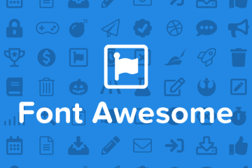 font awesome, font awesome icons, how to add icons in illustrator, icons in illustrator, icons with a font, font awesome in illustrator