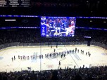 Round 2: Lightning vs. Canadiens. Handshakes.