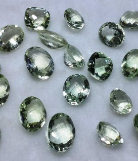 Natural Green Amethyst - Gems Jewellers & Gems Stone
