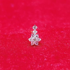 Diamond Nosepin - Gems Jewellers & Gems Stone
