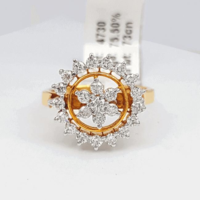 Latest Diamond Ring (রিং) Design - ডায়মন্ড বা হীরার আংটি