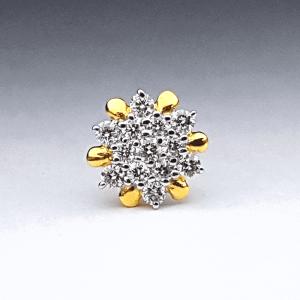 Diamond Nose Pin (নোজপিন) - ডায়মন্ড বা হীরার নাকফুল - Gems Jewellers & Gems Stone