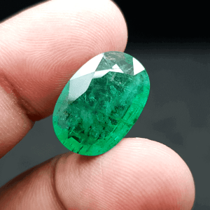 An Original Natural Zambian Emerald (Panna Pathor) Stone - অরিজিনাল জাম্বিয়ান পান্না বা জমরুদ পাথর