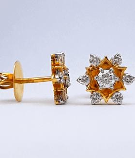 Diamond Earring/ Tops - ডায়মন্ড বা হীরার কানের দুল