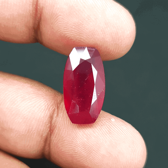 An Original Natural Mozambique (African) Ruby Stone - অরিজিনাল মোজাম্বিক (আফ্রিকান) রুবী বা চুনি পাথর