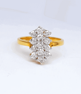 Latest Diamond Ring (রিং) Design - ডায়মন্ড বা হীরার আংটি