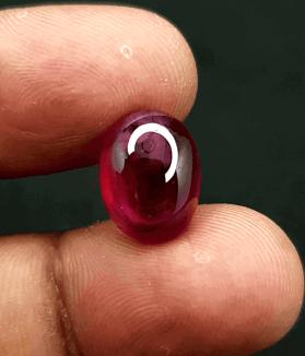 An Original Natural Best Quality Uncut Mozambique (African or New Burma) Ruby Stone Price In Bangladesh - অরিজিনাল মোজাম্বিক (আফ্রিকান) রুবী চুনি পাথরের দাম