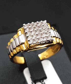 Latest Diamond Gents Ring Price & Design 2021 - ডায়মন্ডের হীরার রিং আংটির দাম ও ডিজাইন