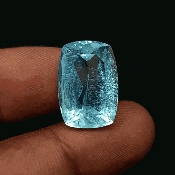 An Original Natural Best Quality Aquamarine Stone Price In Bangladesh - অরিজিনাল ব্রাজিলিয়ান একোয়ামেরীন পাথরের দাম