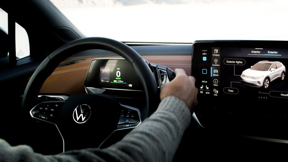 volkswagen's-new-id.4-ev-soothes-drivers-with-a-subtle-(and-literal)-guiding-light