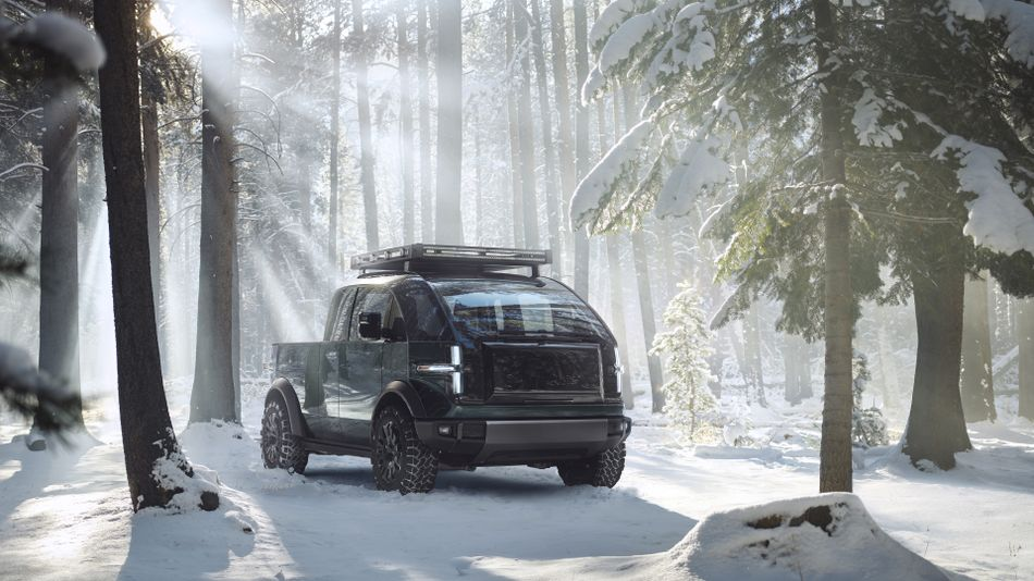 canoo-unveils-electric-pickup-truck-that's-way-smaller-than-the-tesla-cybertruck