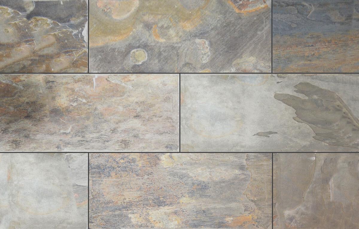 california gold slate tile