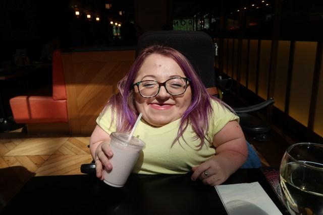 Gem with Milkshake.JPG