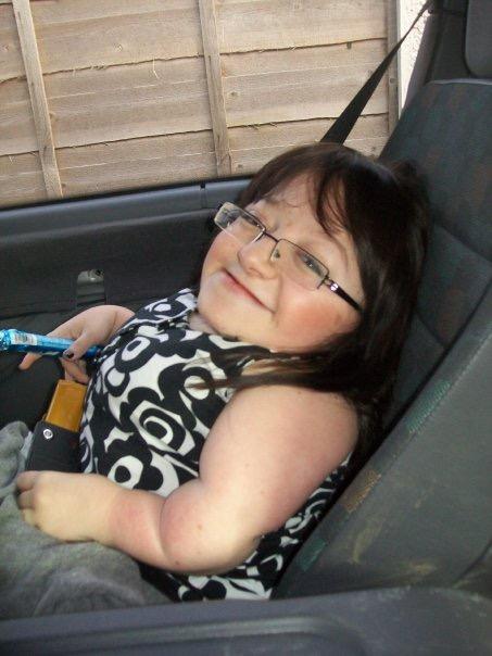 Gem Turner sat in car