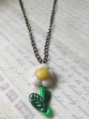 Daisy Necklace @ $12.90