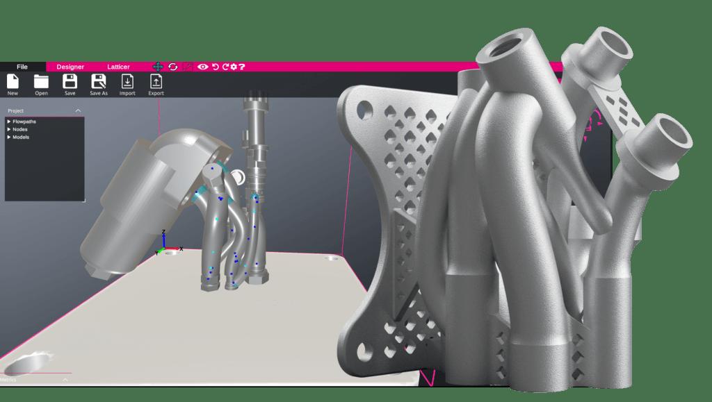 design accelerators and generative design features for additive manufacturing