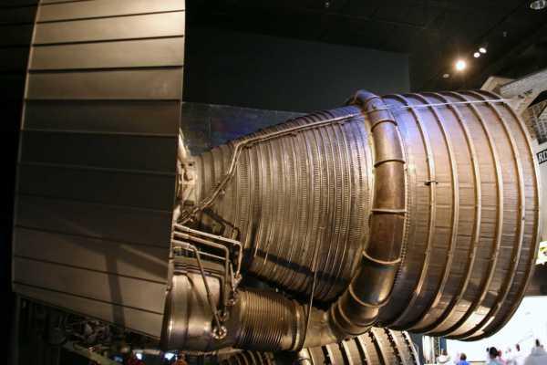 F1 Liquid Fuel Rocket Engine - 1971