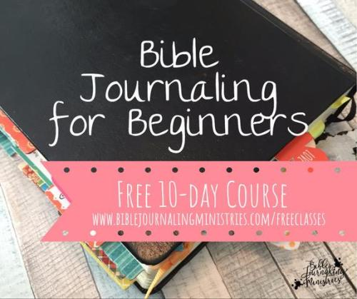 Bible Journaling course