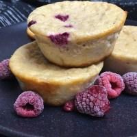 Quarkmuffins mit Himbeeren | High Protein