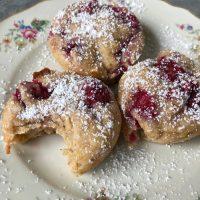 Himbeer Kokos Muffins | vegan