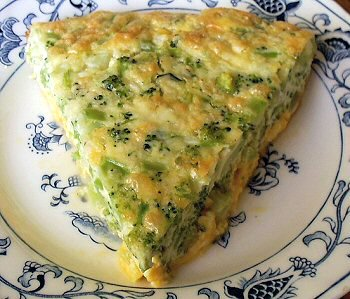 BROCCOLI QUICHE Linda39s Low Carb Menus Recipes