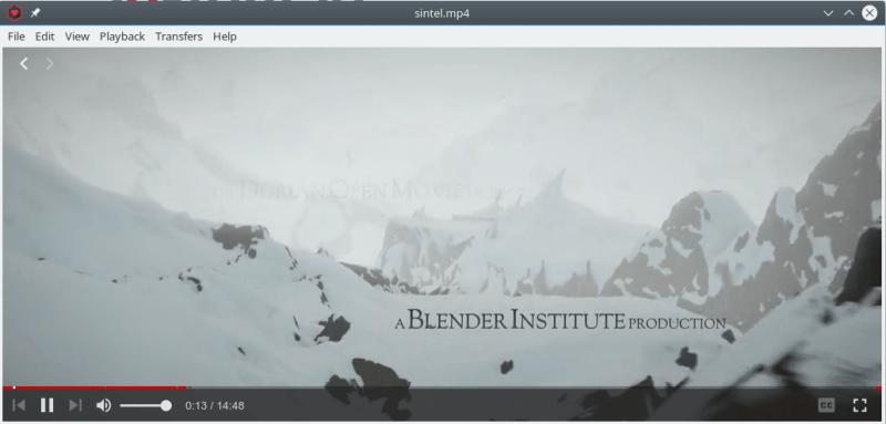 WebTorrent uygulamasında video izleme