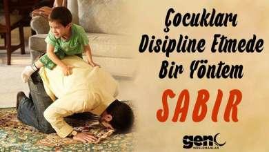 Photo of Çocukları Disipline Etmede Bir Yöntem: Sabır