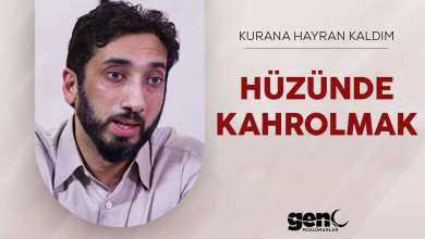 Photo of Üzüntülerinin Seni Kahretmesine İzin Verme – Nouman Ali Khan