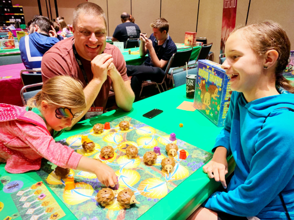 Family gaming at Gen Con