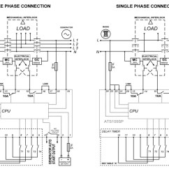 Transfer Switch Wiring Diagram Sodium Electron Shell Automatic Ats Controller Build Your Own