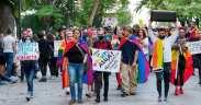 Протест срещу хомофобията в Пловдив
