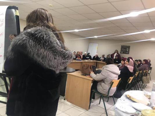 دة. عصمت حوسو - مركز موسى الساكت الثقافي - محاضرة توعوية للتمكين النفسي للأمّهات