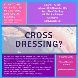 Cross Dressing?