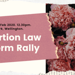 Pro-Choice Abortion Law Reform Rally