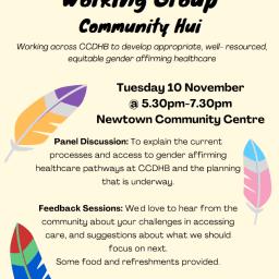 SGDWG Community Hui – Wellington