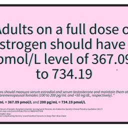 Safe Estrogen Levels