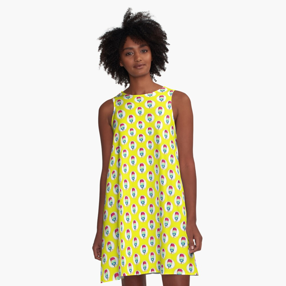 Dress: pansexual flag popsicle - Pan A.F.