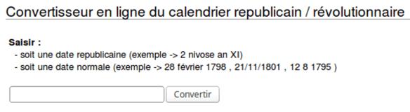 Calendrier Revolutionnaire Conversion.Comprendre Le Calendrier Republicain Genea Logiques