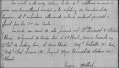 extrait lors du décés d'Alphonse 4 juin 1916