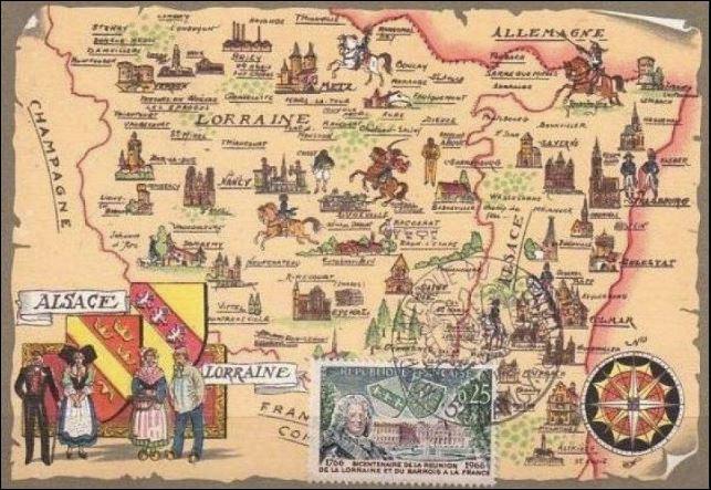 Reunion de la Lorraine et du Barrois à la France en 1766