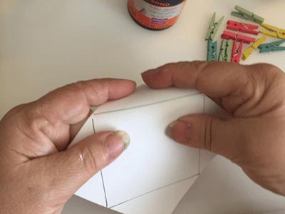 Photo of folding photograph