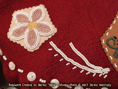 Photo of Bead work on tunic