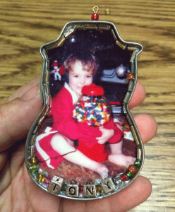 Photo of Cookie Cutter Christmas Ornament featuring David Anthony Whedbee