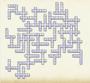 Crossword Puzzle Answer Page