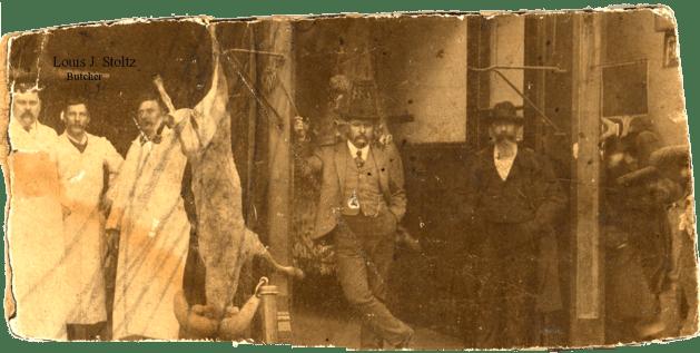 Louis J. Stoltz, Butcher