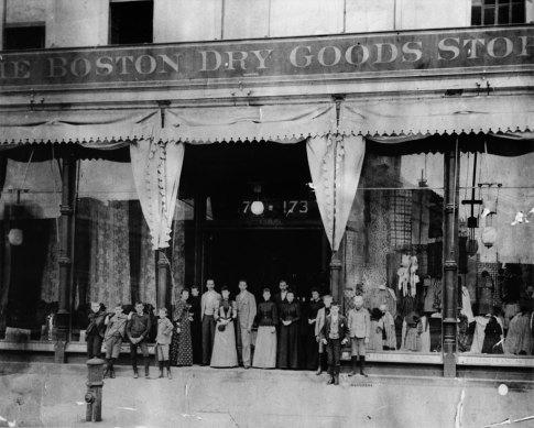 Boston Dry Goods on North Broadway, Los Angeles