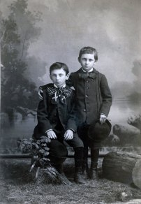 Charles and Paul Richter, sons of Friedrich and Barbara (Stoltz) Richter