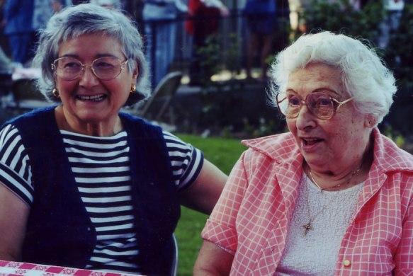 Gloria and Cecilia Hernandez