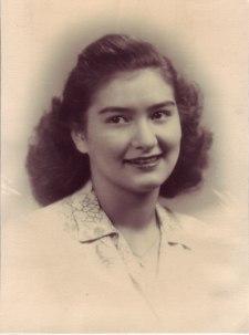 Gloria Joyce Hernandez-Alvarado (1928-2011), 1946