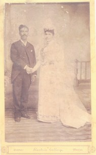 Juan Manuel Luján (1864-?) on his marriage to Francisca